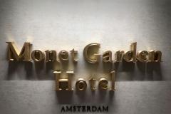 Interieur letter Monet