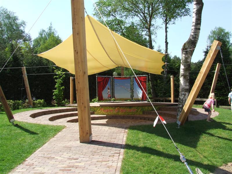 Openlucht theater Camping de Wije Werelt