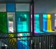 Gekleurde glasfolie basisschool Het Visnet Gekleurde glasfolie basisschool Het Visnet visnet folie5 110x96 nieuws Nieuws visnet folie5 110x96