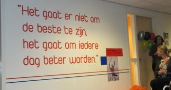 Muurschilderingen sieren het sport- en onderwijsgebouw op Papendal Muurschilderingen sieren het sport- en onderwijsgebouw op Papendal 100 351x185