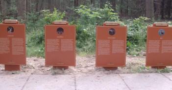 bewegwijzering de hoge veluwe Bewegwijzering Nationaal Park De Hoge Veluwe reclamezuilen hoge veluwe 700x335px 351x185