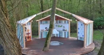Unieke houten kookplek met sfeerwanden op camping Vliegenbos Unieke houten kookplek met sfeerwanden op camping Vliegenbos DSC 0071 Medium 351x185