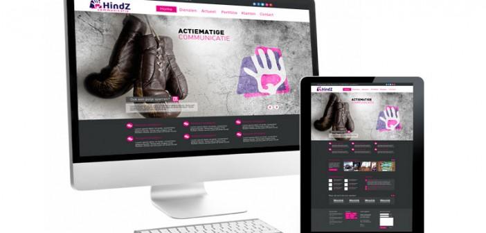 HindZ Communicatie zoekt samenwerking voor eigen website HindZ Communicatie zoekt samenwerking voor eigen website  website wordpress hindz 702x336