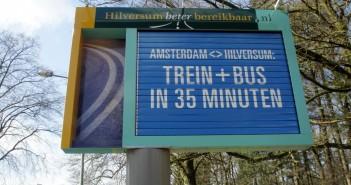 Bewegende reclamezuilen gemeente Hilversum Bewegende reclamezuilen gemeente Hilversum bewegwijzering 1 351x185