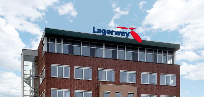 Lichtreclame Lagerwey Lichtreclame op hoogte voor Lagerwey lagerwey gevel header