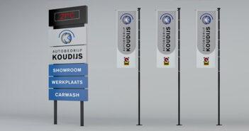 buitenreclame autobedrijf koudijs Buitenreclame autobedrijf Koudijs koudijs header 351x185