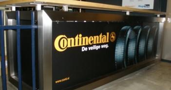 Fotowand & interieurdesign voor Continental Fotowand & interieurdesign voor Continental conti balie 01 351x185