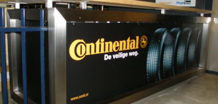 Fotowand & interieurdesign voor Continental Fotowand & interieurdesign voor Continental conti balie 01 702x336